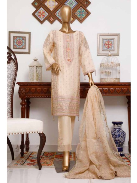 BIN SAEED 3 Piece Luxury Collection 2020 D-MS 4001