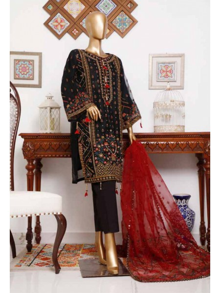 BIN SAEED 3 Piece Luxury Collection 2020 D-MS 4005