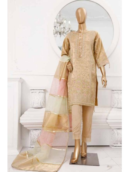 BIN SAEED 3 Piece Luxury Collection 2020 D-MS 4006 FOAN