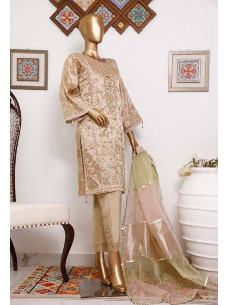 BIN SAEED 3 Piece Luxury Collection 2020 D-MS 4006 SKIN