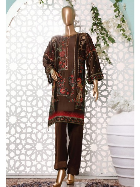 BIN SAEED Silk Embroidered Tunic Collection Vol 3 D-11
