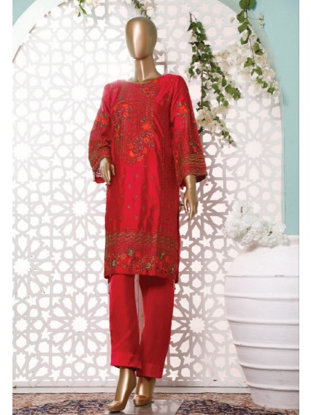 BIN SAEED Silk Embroidered Tunic Collection Vol 3 D-12