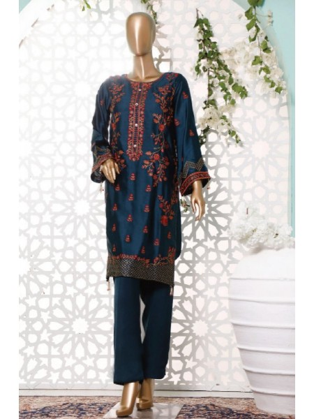 BIN SAEED Silk Embroidered Tunic Collection Vol 3 D-15
