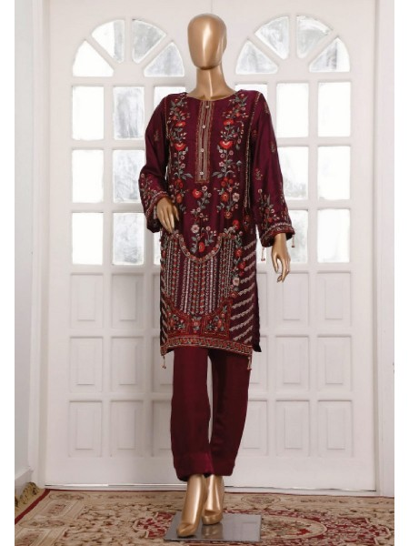 BIN SAEED Silk Embroidered Tunic Collection Vol 3 D-27