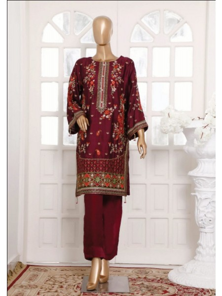 BIN SAEED Silk Embroidered Tunic Collection Vol 3 D-32