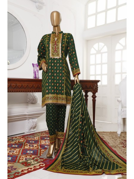BIN SAEED Unstitch Printed Cotton Cambric Collection20 Vol-02 D-11