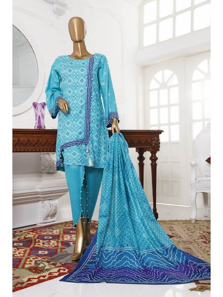 BIN SAEED Unstitch Printed Cotton Cambric Collection20 Vol-02 D-16