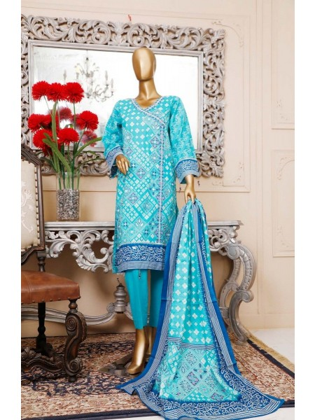 BIN SAEED Unstitched Cambric Embroidered Collection Vol-02 D-16