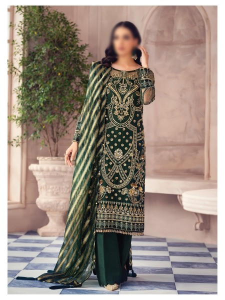 GULAAL Alayna Unstitched Luxury Formals D-AG 01
