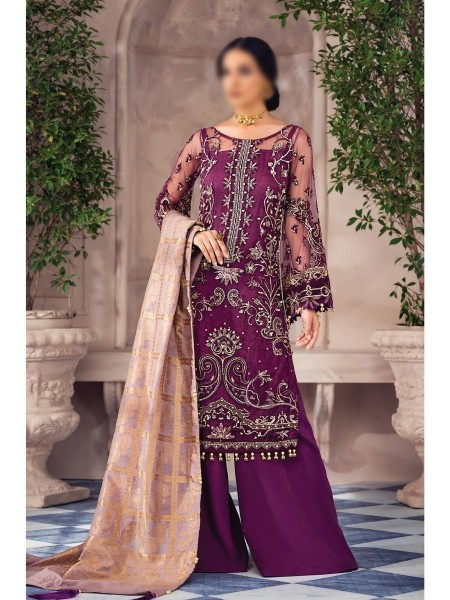 GULAAL Alayna Unstitched Luxury Formals D-AG 02