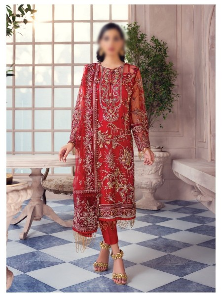 GULAAL Alayna Unstitched Luxury Formals D-AG 06