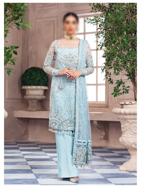 GULAAL Alayna Unstitched Luxury Formals D-AG 08
