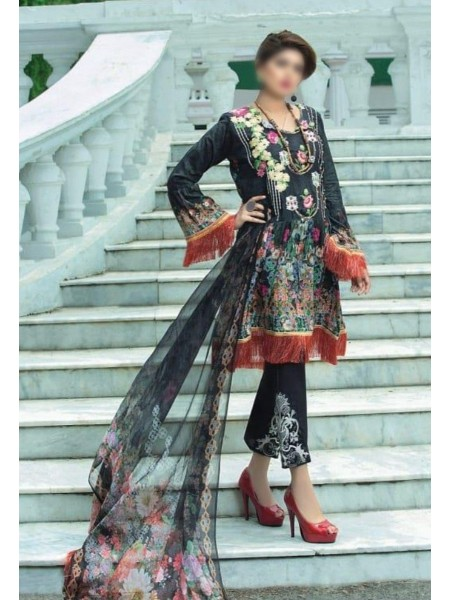 KOTON Unstitched Luxury Embroidered Lawn Collection D-02