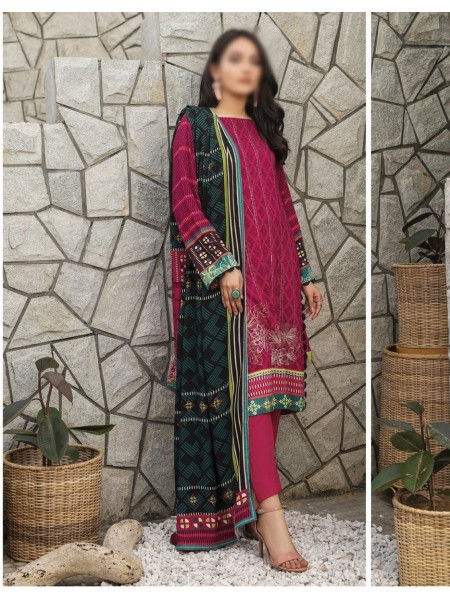 LSM Lakhany Unstitched Winter Collection Vol-01 - D-WCC 2064