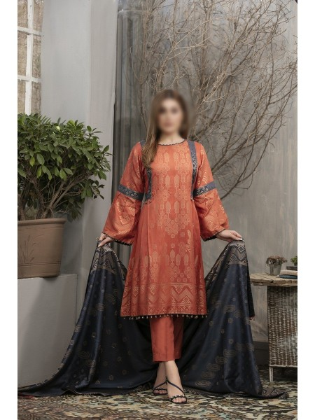 RIAZ ARTS Anthea Unstitched Viscose Broshia Banarsi D-RA 169