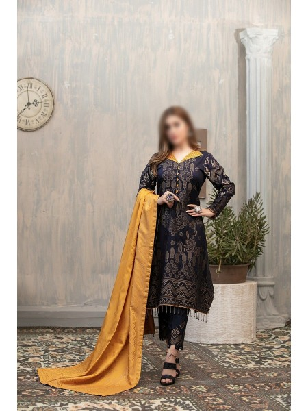 RIAZ ARTS Anthea Unstitched Viscose Broshia Banarsi D-RA 170