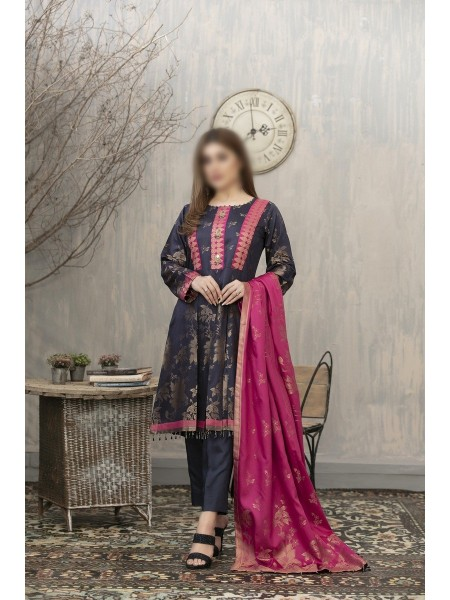 RIAZ ARTS Anthea Unstitched Viscose Broshia Banarsi D-RA 172