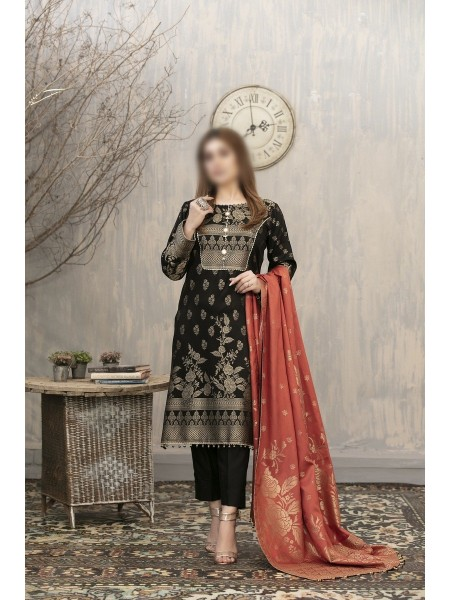 RIAZ ARTS Anthea Unstitched Viscose Broshia Banarsi D-RA 173