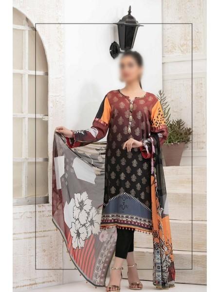 RIAZ ARTS Cynara Unstitched Viscose Digital Print Exclusive Broshia Collection D-RA-158