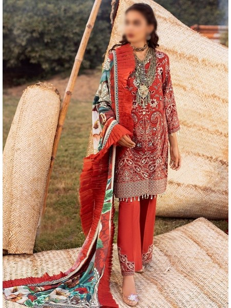 RIAZ ARTS Nureh Embroidered Khaddar Unstitched Collection D-NW 02