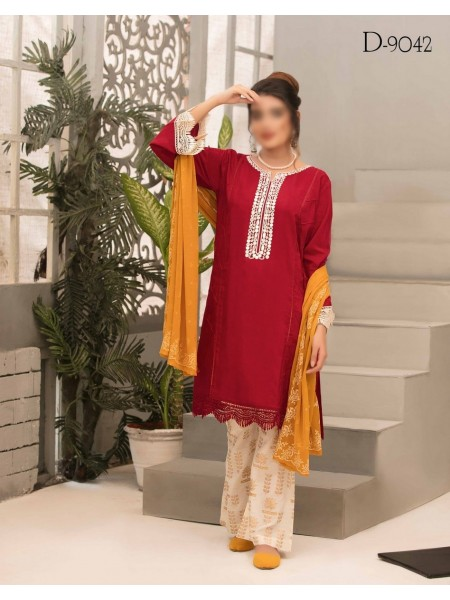 TAWAKKAL Aria Grip Stitched Silk Collection D-9042