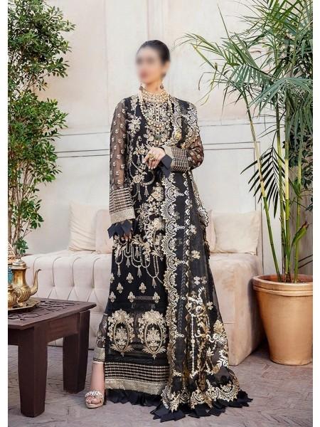 AFROZEH Shehnai Unstitched Wedding Collection DAAB GINA