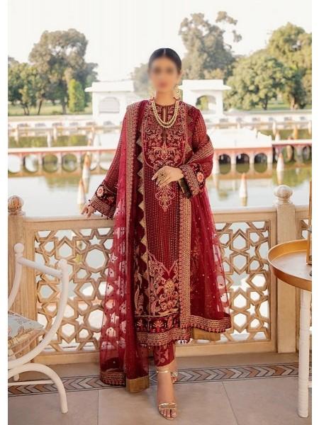 AFROZEH Shehnai Unstitched Wedding Collection DANARKALI