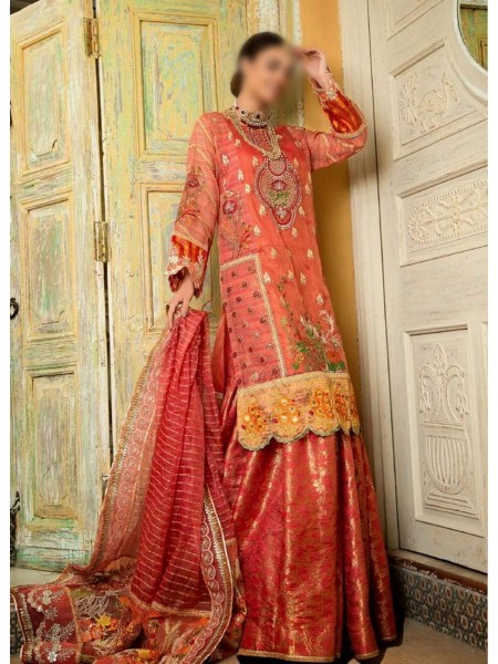 Asifa & Nabeel Unnstitched Festive Collection20 D-ZN 02