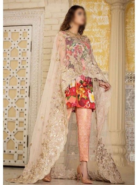Asifa & Nabeel Unnstitched Festive Collection20 D-ZN 04