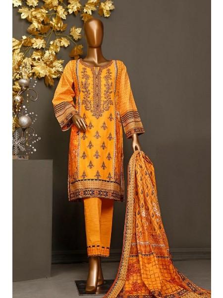 BIN SAEED Khaddar Winter Stitched Collection kh 1140
