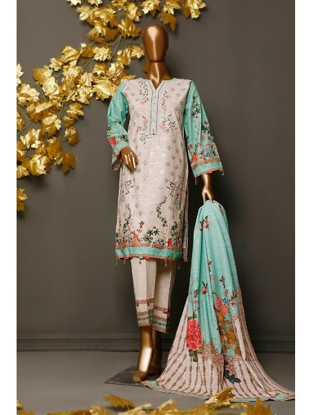 BIN SAEED Khaddar Winter Stitched Collection kh 1190