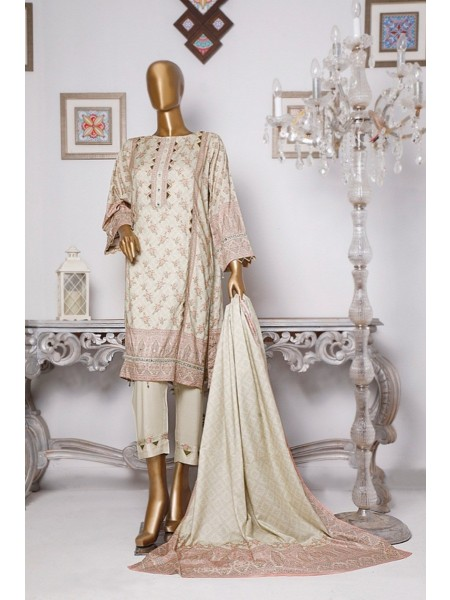 BIN SAEED Linen Collection D-LI 6014