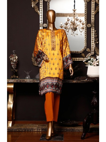 BIN SAEED Silk Embroidered Tunic Collection Vol 04 D-04