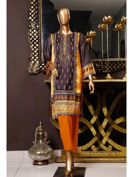 BIN SAEED Silk Embroidered Tunic Collection Vol 04 D-10