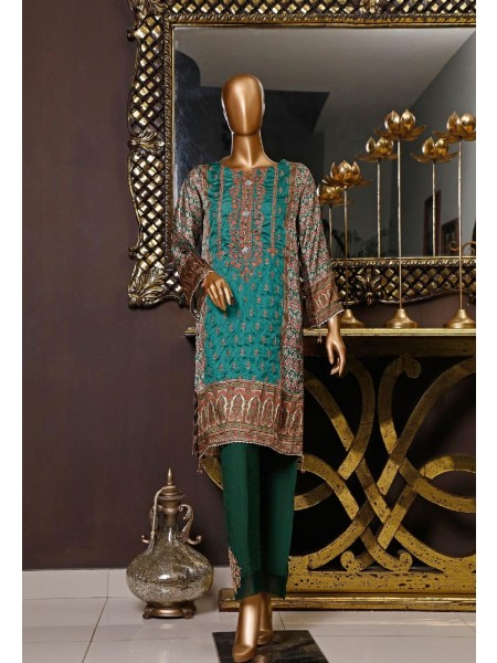 BIN SAEED Silk Embroidered Tunic Collection Vol 04 D-12