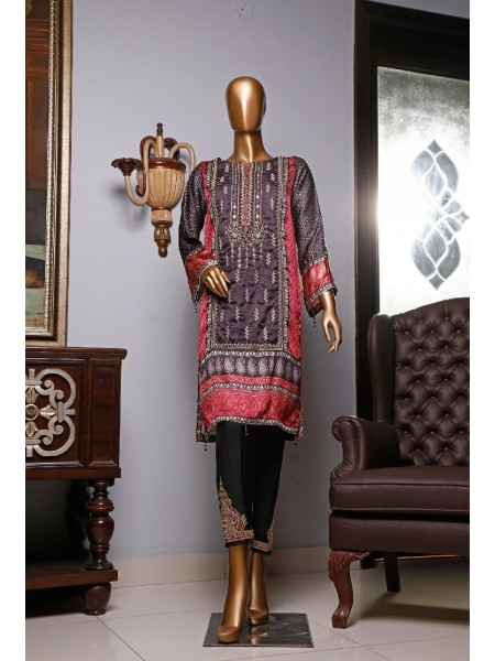 BIN SAEED Silk Embroidered Tunic Collection Vol 04 D-15
