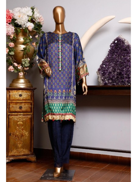 BIN SAEED Silk Embroidered Tunic Collection Vol 04 D-16