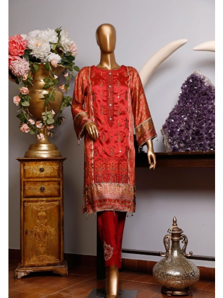 BIN SAEED Silk Embroidered Tunic Collection Vol 04 D-22