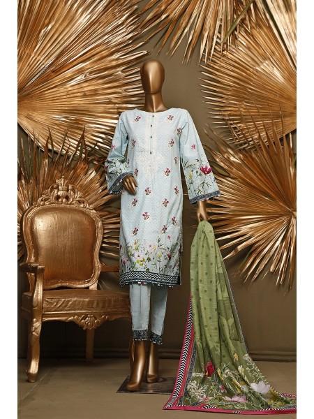 BIN SAEED Stitched 3 Pec Khaddar Collection D-KH 1156
