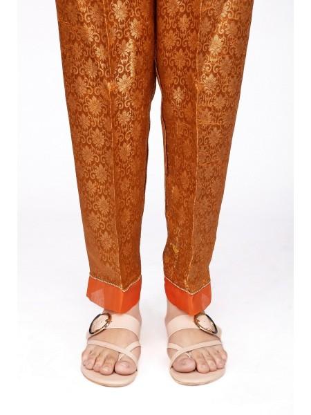 Jacquard Jamawar Stitched Silk Pant D-TR Jamawar I