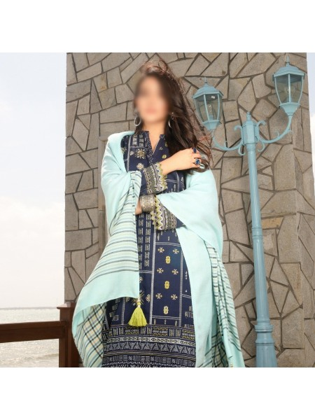 LSM Unstitched Winter Exclusive Embroidered Collection D-WPC 2046