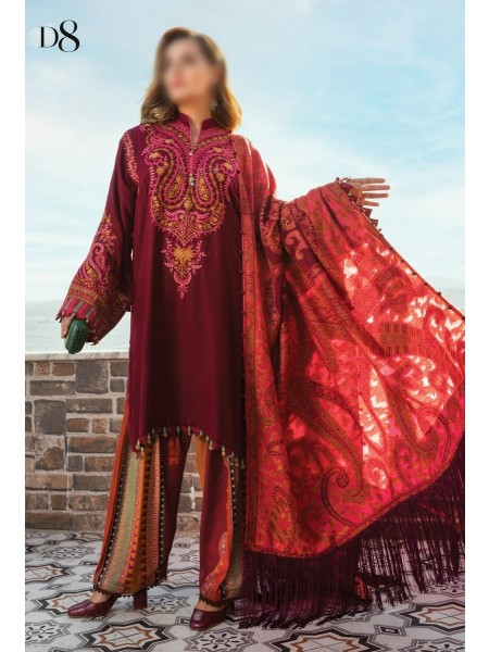 MARIA B LINEN WINTER COLLECTION (Unstitched)'20 D-08