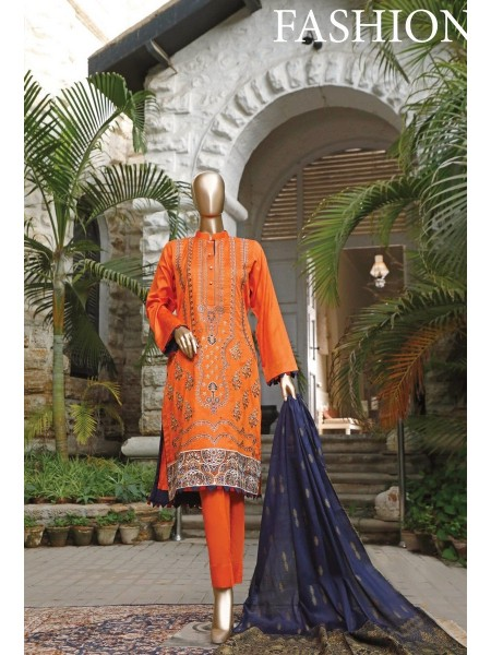 MARIYA MUSKAN Unstitched Embroidered Banarsi Collection Vol04 D03
