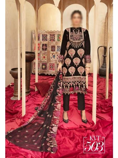 NUR Ibteda Unstitched Embroidered Velvet Collection D-KVT 503