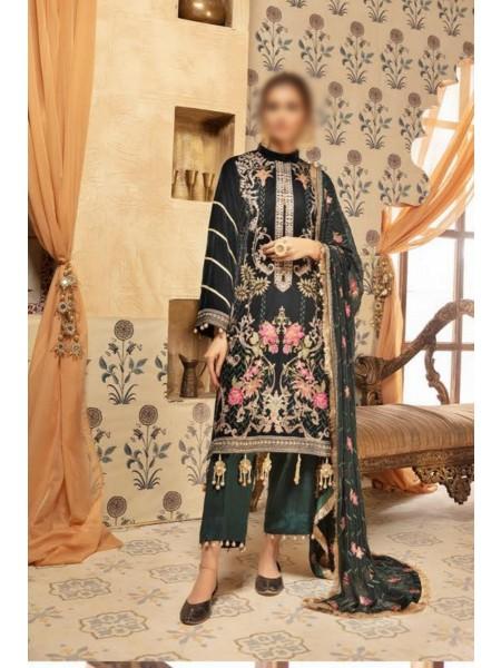 NUR Ibteda Unstitched Embroidered Velvet Collection D-KVT 506