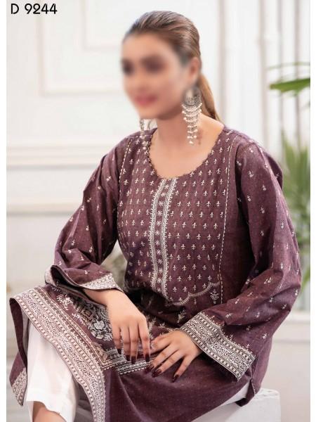 TAWAKKAL Panache Rangoli Stitched Cotton D9244
