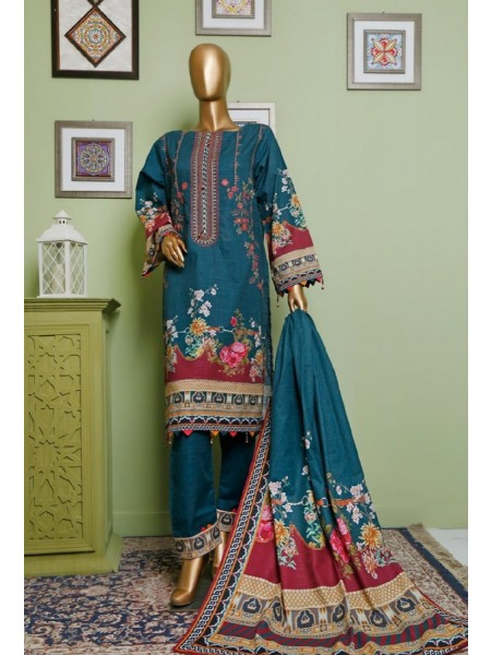 BIN SAEED Khaddar Winter Stitched Collection D-KH 1153