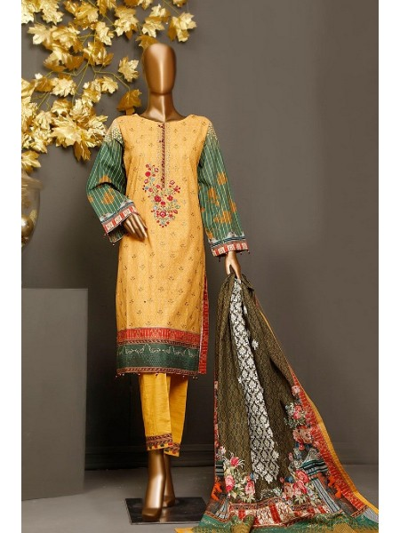 BIN SAEED Khaddar Winter Stitched Collection D-KH 1180