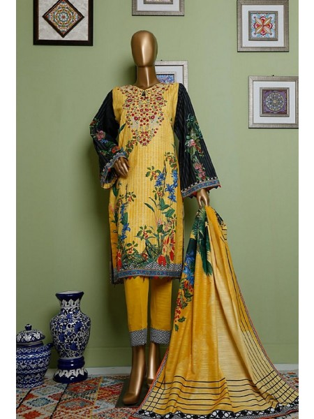 BIN SAEED Khaddar Winter Stitched Collection D-KH 1197