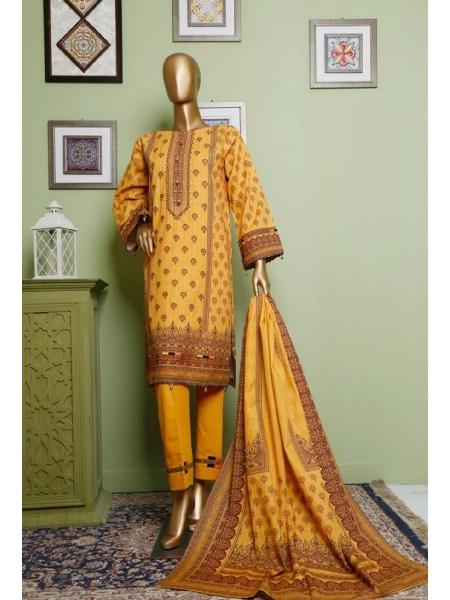 BIN SAEED Khaddar Winter Stitched Collection D-KH 1205